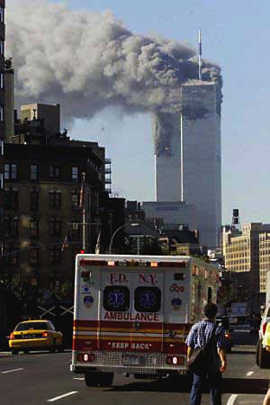 9-11 towers