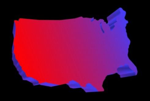 American Electoral Map