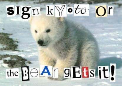 Global Warming Hoax Polar Bear