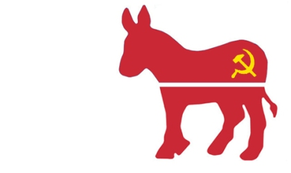 New Democrat Party Logo Donkey