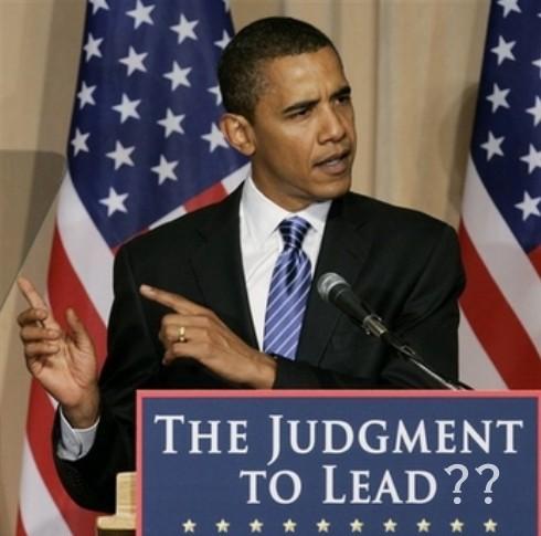 Obama's Judgment