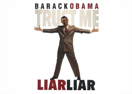 Barack Obama Liar Liar