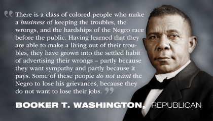Booker T Washington Republican