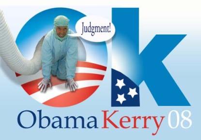 Obama Kerry 08