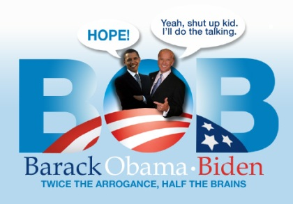 Barack Obama Biden Campaign Sign