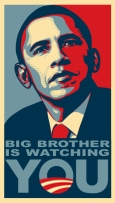 Obama Big Brother is Watching You