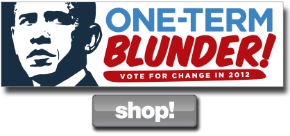 One Term Blunder Bumper Sticker