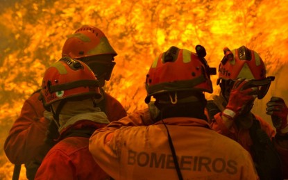 PORTUGAL FIRE IN TABUA