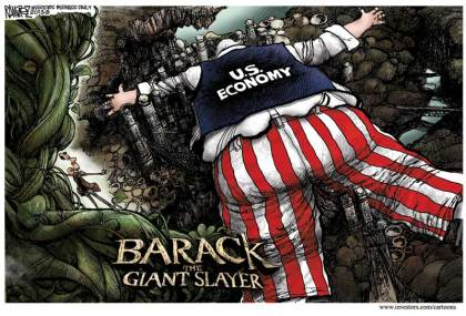 Barack the Giant Slayer