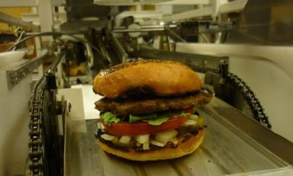 hamburger robot