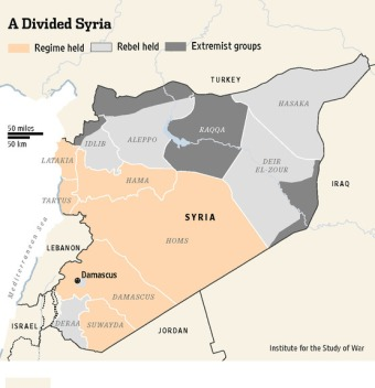 A Divided Syria