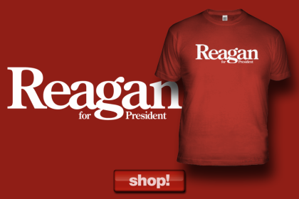 The Original, Iconic 1980 Ronald Reagan primary campaign logo. Available ONLY from American Elephants!