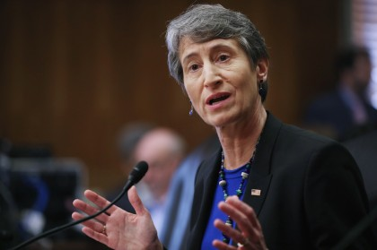 Senate Holds Confirmation Hearing For Sally Jewell For Interior Sec'y