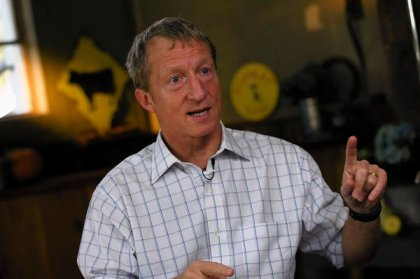 Liberal billionaire Tom Steyer