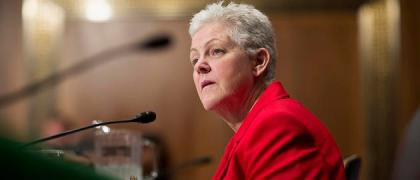 McCarthy testifies before a Senate Environment and Public Works Committee hearing on her nomination to be administrator of the Environmental Protection Agency