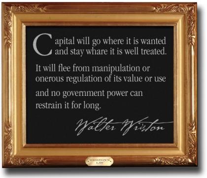 Wristons Law