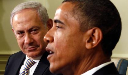 U.S. President Obama and Israeli Prime Minister Netanyahu meet at the White House in Washington