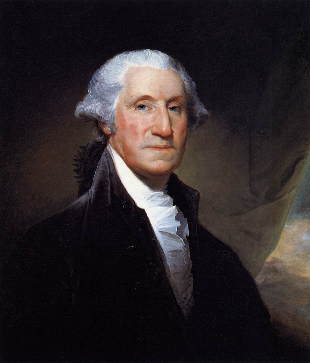 George Washington Portrait, Gilbert-Stuart, 1795